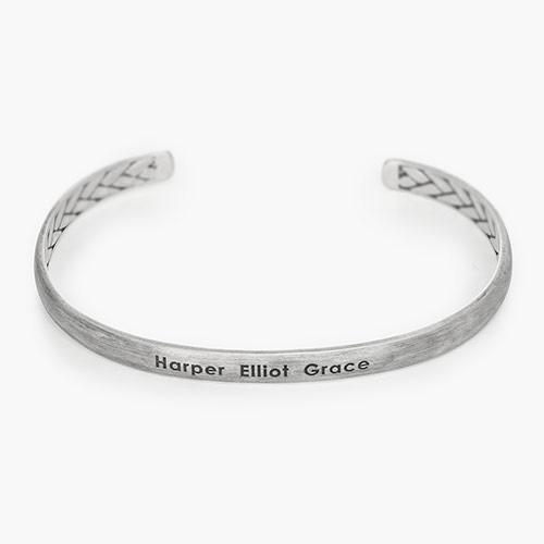 Ace Cuff Bracelet - Silver