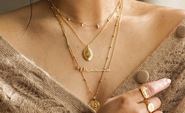 Mon Petit Name Necklace